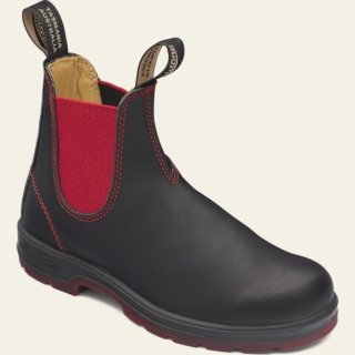 Women's Style 1316 pu-tpu-red-elastic-sided-v-cut_1316_F by Blundstone
