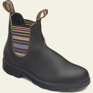 Women's Style 1409 pu-tpu-stripe-elastic-sided-v-cut_1409_F by Blundstone