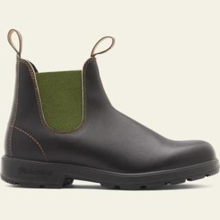 Men's Style 519 pu-tpu-olive-elastic-sided-v-cut_519_M by Blundstone