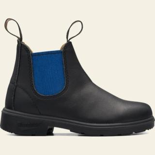 Kids' Style 580 kids-blue-elastic-sided-v-cut_580_F by Blundstone