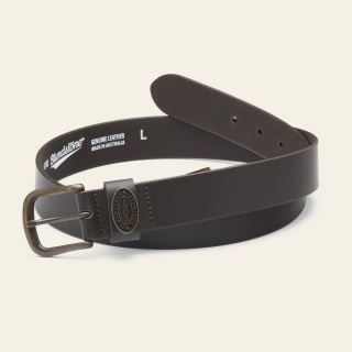 Leather Belt - Brown belt-chocolate-brown_BELTBRN_F by Blundstone