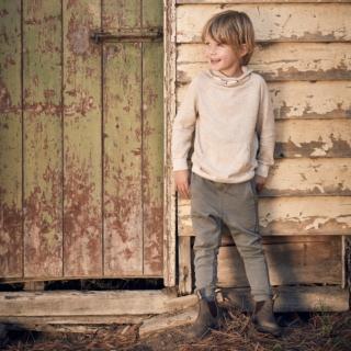 Kids' Style 565 pu-kids-elastic-sided-v-cut_565_F by Blundstone